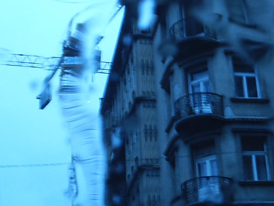 Esőben Samsung Digimax 201