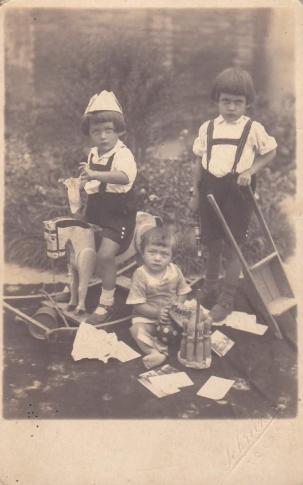 Fájth György, Dragonics György és István, Öcsi 1924