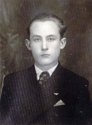 Fájth István, diák