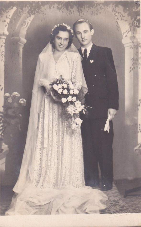 Ostoros István esküvői képe.
