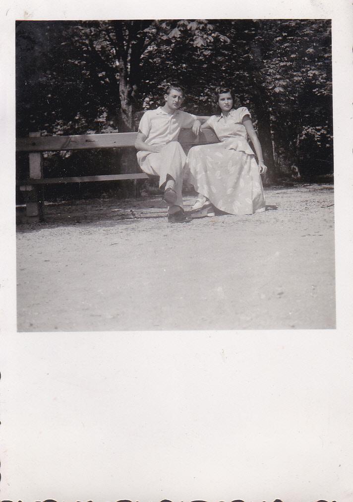 Dévényi György és felesége